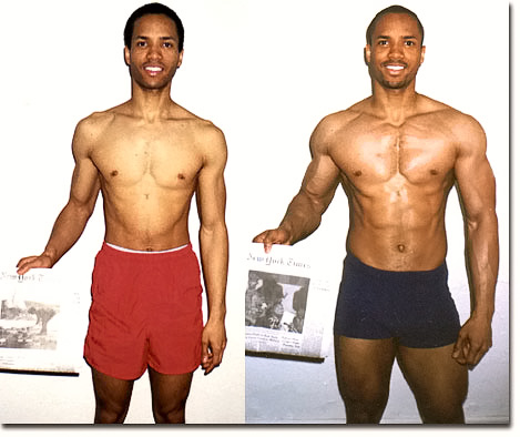 Muscle Gain (How to gain weight) Photos Taken 12 Weeks Apart!